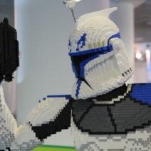 Un stormtrooper en légo. Crédit : Loïc Masson