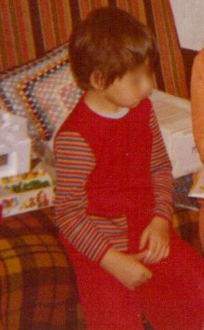 Enfant, Laura s'appelait Laurent. (Crédit Photo : archives personnelles)