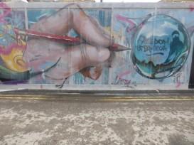 Mr. Shiz rend hommage à la liberté d'expression, à Londres Crédits : Mr. Shiz