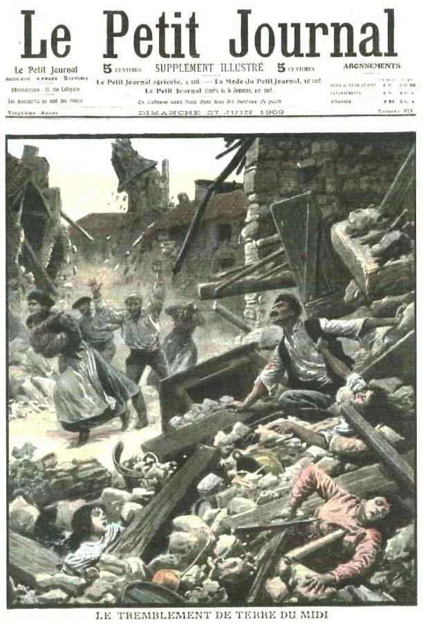 Le risque sismique toujours aussi lev dans le sud est de la france buzzles - Le journal de la provence ...