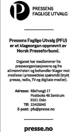 Ce communiqué, ainsi qu'un article, ont été publiés sur le journal Rada Blad à la demande du PFU