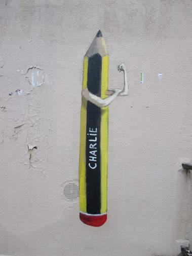 Graffiti de l'artiste français Philippe Herard à Paris. Crédits : Philippe Herard
