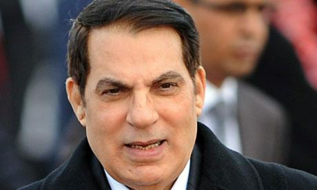 Zine el Abidine Ben Ali a été chassé du pouvoir le 14 janvier 2011 par un mouvement de protestation populaire. Il s'est réfugié à Djeddah en Arabie Saoudite. Il est arrivé au pouvoir le 7 novembre 1987.