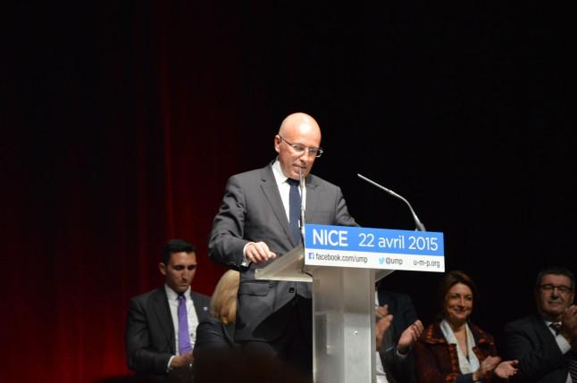 Eric Ciotti, député des Alpes-Maritimes et président du conseil départemental. Crédit: Matthias Somm