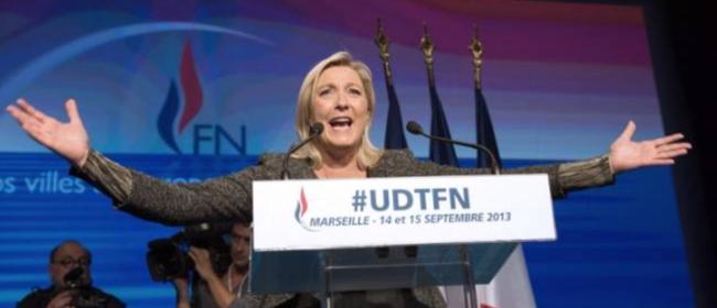 Marine Le Pen lors de l'université du parti en septembre 2013 à Marseille. (Bertrand Langlois/AFP)