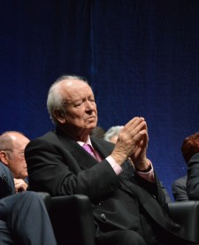 Jean-Claude Gaudin, maire de Marseille et sénateur des Bouches-du-Rhône. Crédit: Matthias Somm