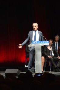 Hubert Falco, maire de Toulon et sénateur du Var. Crédit: Matthias Somm