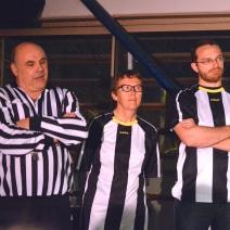 Les arbitres. (Crédit photo : Matthias Somm).