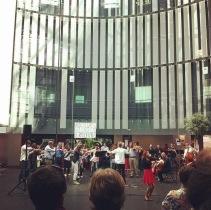 L''orchestre de Radio France lors d'un concert. Grève ou pas, the show must go on. (Crédit photo : @s_lzs sur Instagram)