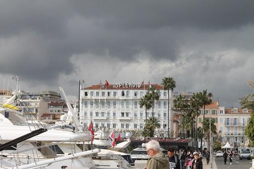 L'hôtel Splendid affiche complet pour la durée du festival de Cannes. Crédit photo: Guillaume Soudat