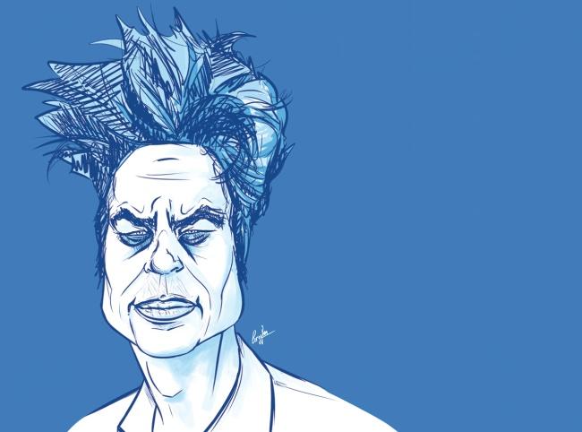 Del Toro, l'éloge du monstre. (Crédit dessin: Cédric Ragnolo)
