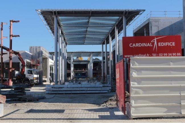 Polygone Riviera prend forme : ouverture prévue en Octobre. (Crédit Photo: Nicolas Faure)