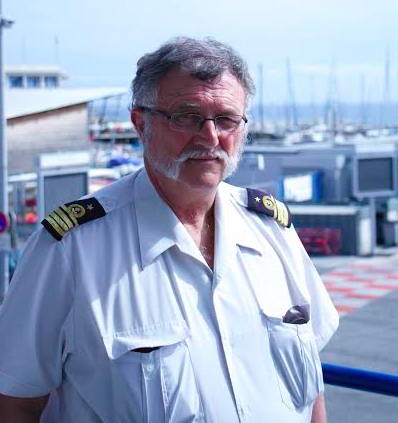 Yves Morel, Commandant du Port de Nice. (Crédit Photo : Loris Bavaro)