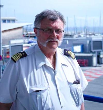 Yves Morel, Commandant du Port de Nice. (Crédit Photo : Loris Bavaro)