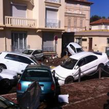 Les dégâts sont considérables ici à Vallombrosa (Crédit Photo : Antonin Deslandes)