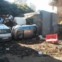 Les dégâts sont considérables ici à Vallombrosa (Crédit Photo : Adrien de Volontat)