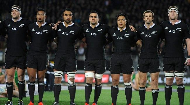 Les « All Blacks », toujours aussi impressionnants (Crédit photo : allblacks.com)