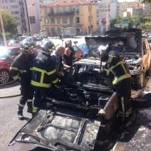 Les dégâts sont considérables ici à Vallombrosa (Crédit Photo : Gaspard Poirieux)