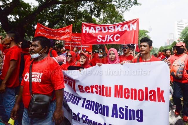 manifestation Malaisie