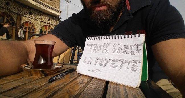 Deux soldats de la Task Force Lafayette sont déjà en Irak pour repérer les lieux. (Crédit photo: page Facebook de la Task Force Lafayette)