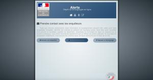 La plateforme en ligne du ministère de l'Intérieur. Crédit A. G.