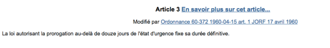 (crédit photo: capture d'écran de la loi 55-385 sur legifrance.gouv.fr)