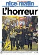Un mot pour Nice-Matin : « l'horreur ». (Crédit : nicematin.com)