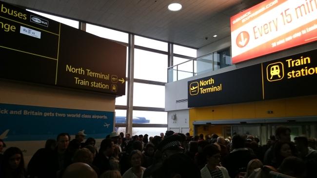 Terminal Nord de Gatwick
