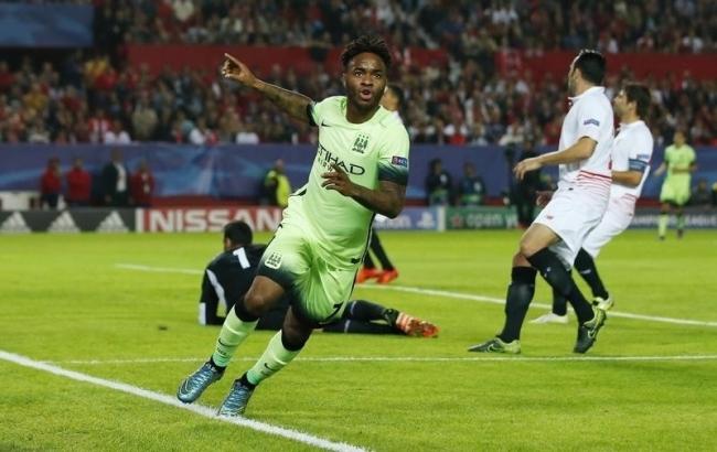 Le jeune Raheem Sterling, figure de proue d'un Manchester City qualifié et serein. (Crédit photo: Reuters)