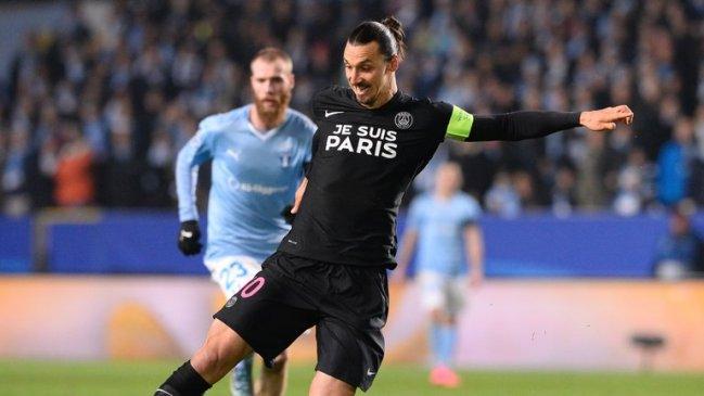 """(Crédit photo : D.R.) """"Zlatan et les Parisiens ont affiché leur soutien à la ville de Paris, victime du terrorisme.»"""