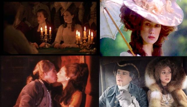 Marisa Berenson interprétait Lady Lyndon dans l'un des chefs-d'œuvre de Kubrick, Barry Lyndon. Crédit: DR.