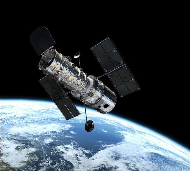 Le télescope spatial Hubble sera bientôt remplacé par le JWST telescope. Crédit photo : ESA.
