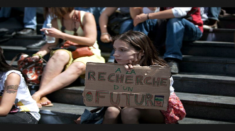 À l'image de Sophie, la majorité des jeunes Français s'inquiètent pour leur avenir (Crédit: D.R.)