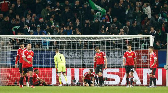 La détresse de David De Gea, le gardien de but, et de tous les joueurs de Manchester United après cette élimnation (Crédits photo : http://www.express.co.uk/)
