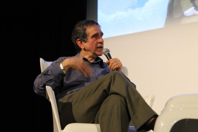 Farad Khosrokhavar, directeur d'études à l'EHESS et sociologue. (Crédit photo : Guillaume Soudat)