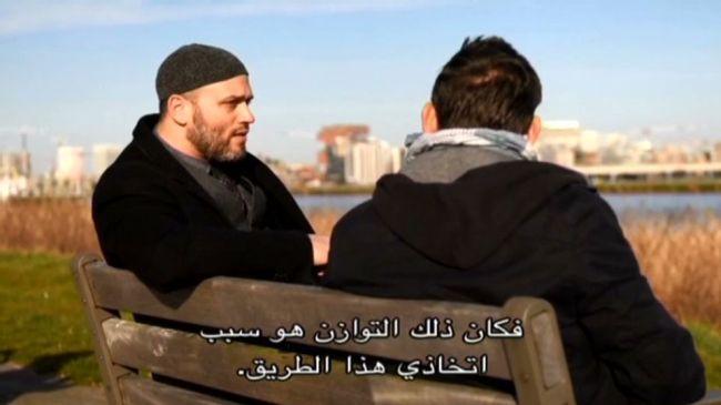 Rudi Vranckx va notamment à la rencontre de l'imam Suleyman, qui officie en Belgique. Crédit : DR