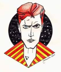 Aleksandra, polonaise, a voulu rendre hommage à l'artiste multicolore(Crédit: Facebook/Aleksandra Kulus).