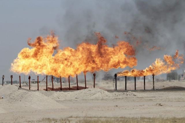 Le pétrole représente une manne financière importante pour l'Etat Islamique (crédit photo: Essam Al-Sudani/Reuters)