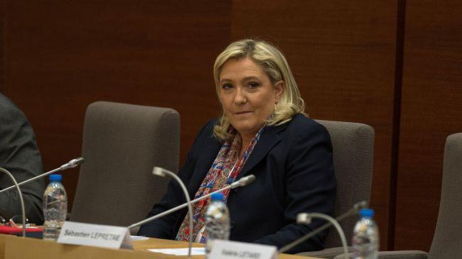 La présidente du Front national Marine Le Pen, le 4 janvier 2016 à Lille afp.com/DENIS CHARLET