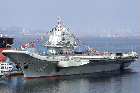 Liaoning-porte avions chine