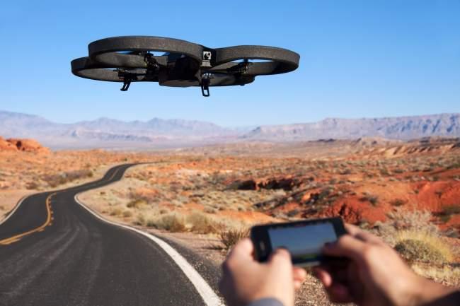 Parrot rencontre un très grand succès en France, comme à l'international avec ses drones grands publics. (Crédit Photo : Parrot)