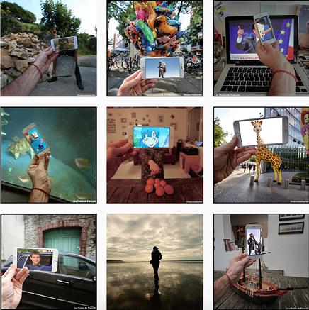 Certains de ses clichés ont fait le tour des médias, partout dans le monde. La mise en scène est toujours la même, encore faut-il trouver les idées. Crédit: Instagram de @françoisdourlen.