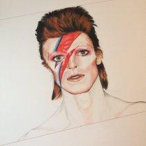 Juliet dessine avec une très grande précision et nous offre un Ziggy Stardust de toute beauté (Crédit: Twitter/@Julietmarshy).