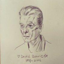 Un David Bowie plus âgé proposé par Jett (Crédit: Twitter/@kjettpack).