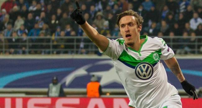 L'attaquant allemand, Max Kruse, a assuré la victoire des siens en inscrivant le troisième but. (Crédit photo : VFL Wolfsburg)