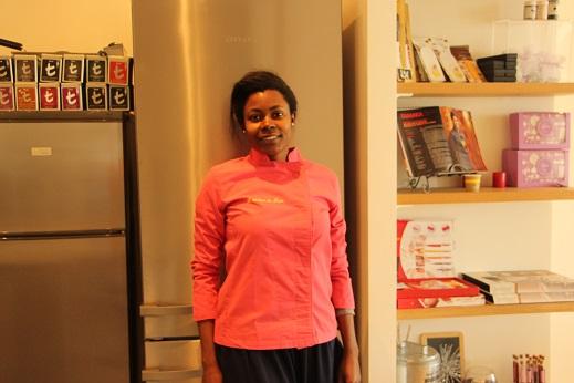 Fin 2012, Tamara a ouvert son atelier, L'atelier de Tam (www.latelierdetam.com), face au port de Nice. Elle propose des cours de cuisine à partir de 19 euros. Crédit photo : Djenaba Diame