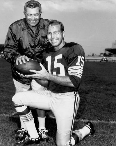 Vince Lombardi et Bart Starr représentait un duo de vainqueurs dans les années 60 (Crédit photo : D.R.)