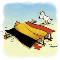 Chaunu reprend Tintin. Crédit : Chaunu
