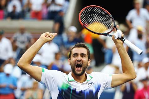 «Depuis son retour de suspension en 2013, le géant croate a remporté l'US Open et a atteint la8ème place mondiale». (Crédit photo: AFP)