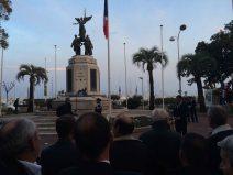 """""""C'est un acte d'émotion de se rassembler pour notre frère belge"""" déclare le maire de Cannes David Lisnard. (Crédit: Thomas Woloch)"""